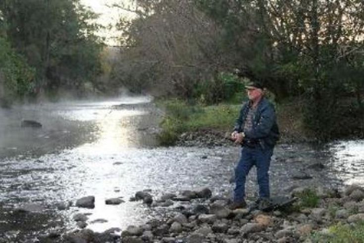 Trout fishing at Barrington Tops https://www.facebook.com/pages/MANSFIELD-COTTAGE-BARRINGTON-Barrington-Tops-Holiday-Accommodation/341811962165  family holiday country farm river swimming fishing canoeing cottage barrington tops national park gloucester tops waterfalls