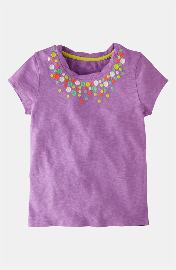 Mini boden 39 pretty 39 embroidered tee toddler little girls for Mini boden rabatt