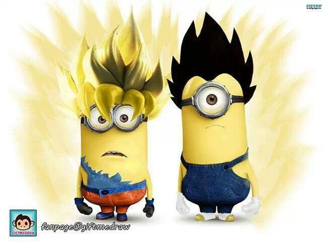 114 Dragon Ball Images Pinterest Dragons Warriors Goku Vegeta Minions