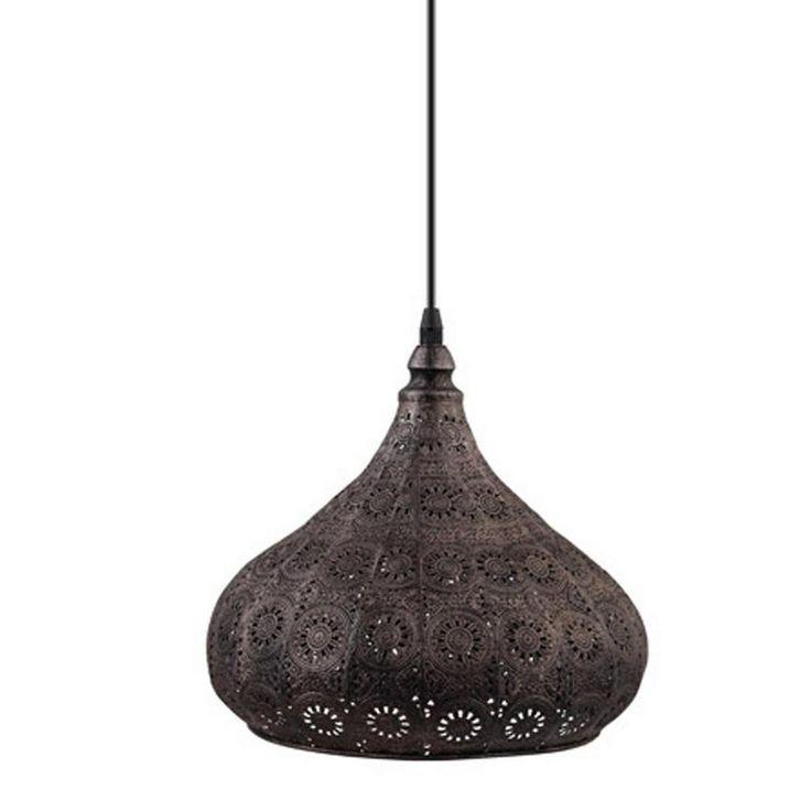 Eglo hanglamp (ø 28,5 cm), Antiek zilver