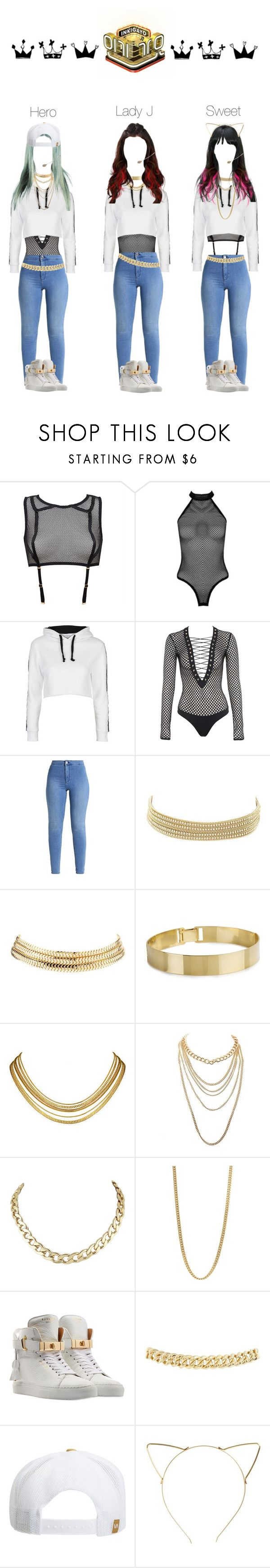 """[Comeback Stage] HotQueen's - Upgrape U / Inkigayo"" by sheisjulia ❤ liked on Polyvore featuring Boohoo, Topshop, Charlotte Russe, Marc by Marc Jacobs, BUSCEMI, RVCA, BP. and DV"