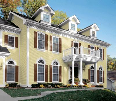 24 best mastic vinyl siding images on pinterest mastic for Vinyl siding and shutter color combinations