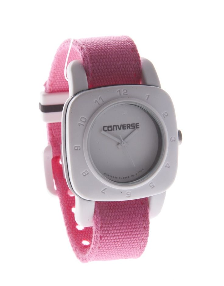 CONVERSE | Converse Sport Inspired Watch in Pink - Women - Style36