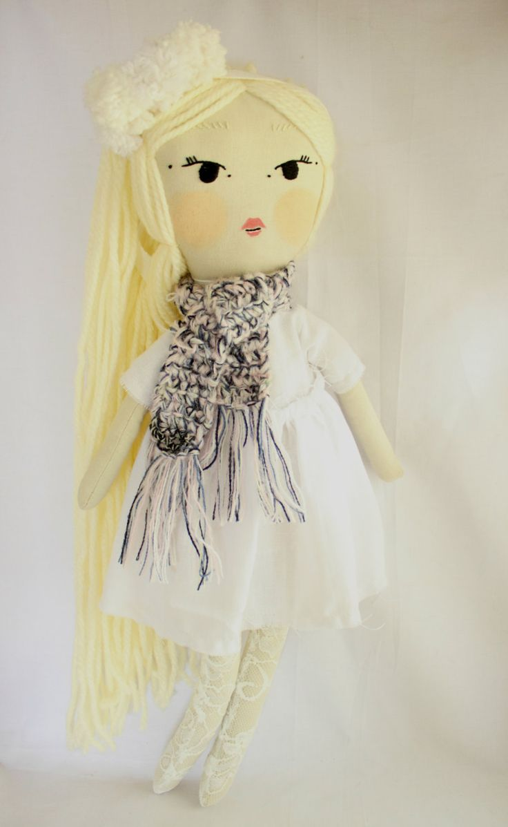 Handmade Cloth Doll / Heirloom Doll / Vintage Doll / Art Doll / Rag Doll by KaraAndKenya on Etsy