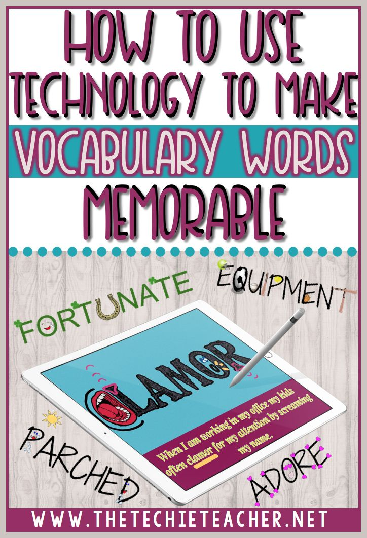 How to use technology to make vocabulary words come alive. Google Drawing for laptops and Chromebooks as well as the PicCollage app for iPads are the two digital tools used to make vocabulary words come alive. Technology in the classroom - Com links para 93 ferramentas este E-Book gratuito em http://www.estrategiadigital.pt/e-book-producao-de-conteudos/ vai ajudá-lo na produção de conteúdos relevantes para envolver os fãs do seu negócio, marca e/ou empresa online.