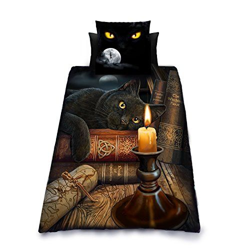 THE WITCHING HOUR Duvet and Pillowcase Cover Set Artworl Lisa Parker / Wild Star Hearts