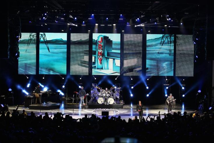 Journey and the Steve Miller Band 2014 summer tour. Clay Paky Sharpys and grandMA2 consoles http://livedesignonline.com/clay-paky-and-grandma2-travel-journey-and-steve-miller-band-s-summer-tour