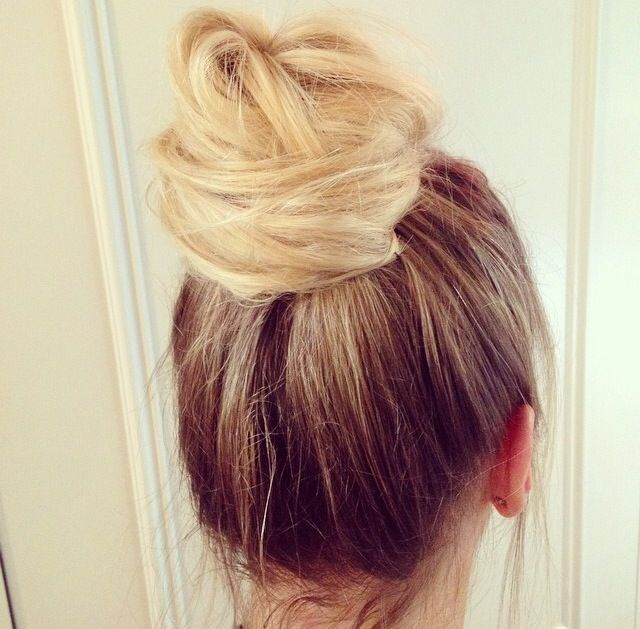 Peachy 99 Best Images About Hair Buns On Pinterest Kate Bosworth Hairstyle Inspiration Daily Dogsangcom