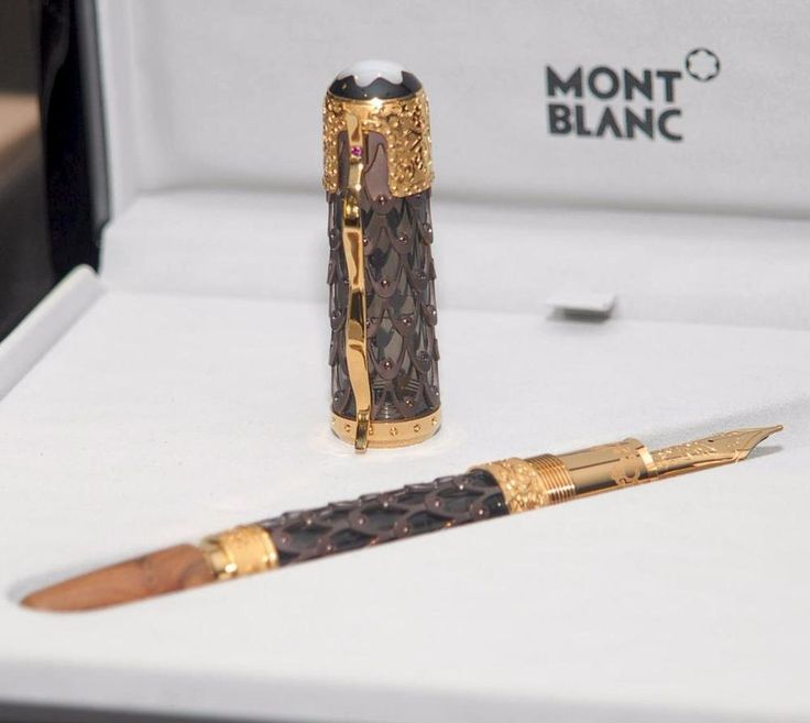 Montblanc Genghis Khan Fountain Pen Yellow Gold Limited Edition 88 SEALED | eBay