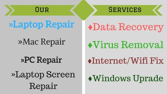 Find all services that provided by Cheap Computer Repairs Melbourne.