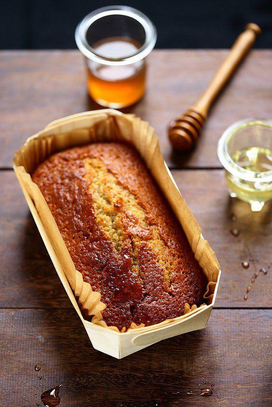 Cake au miel (sans laitages)