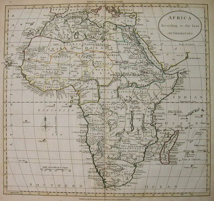 Africa Map Horn Of Africa%0A AFRICA AFRICA ACCORDING TO THE LATEST AUTHORITIES    Maphouse Antique Maps