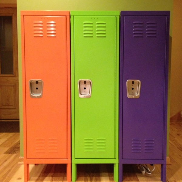 I Have A Set Of Old Metal Lockers In The Garage That I Got A GREAT