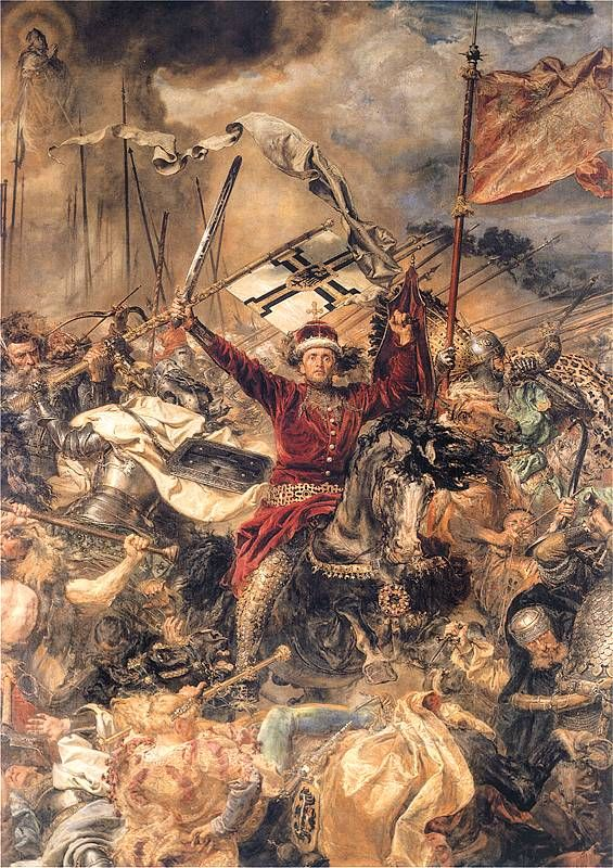 Grand Duke Witold, fragment of painting by Jan Matejko