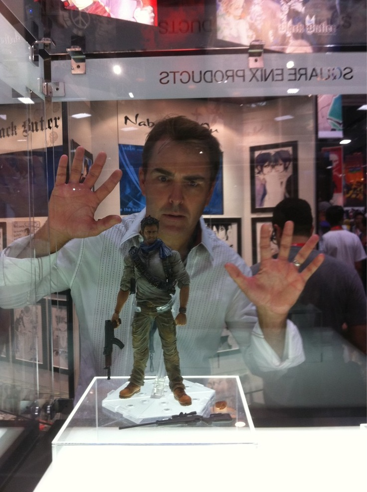 The one and only (though he voices many) Nolan North