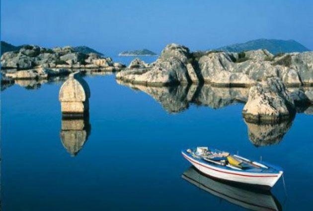 4.Day, Kekova, Tersane Bay, Ucagiz Bay, private boat rental,