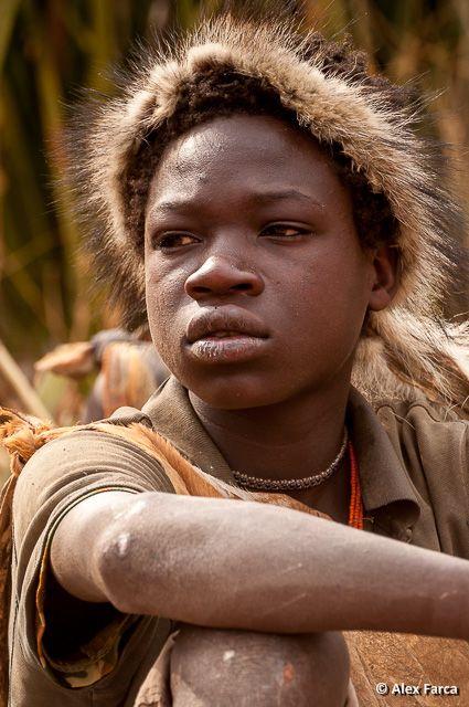 Hadzabe tribe in Tanzania