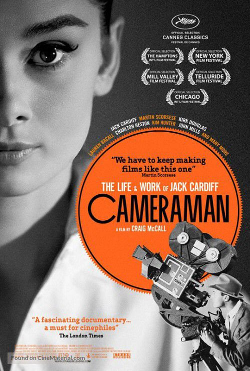 Cameraman: The Life and Work of Jack Cardiff (2010), Craig McCall