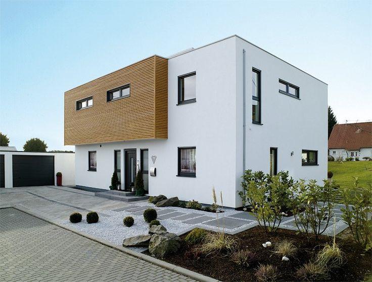 Dieses äußert schöne & moderne Haus von der Firma Streit zieht allein durch seine moderne und schlichte Bauweise besonders viele Blicke auf sich.