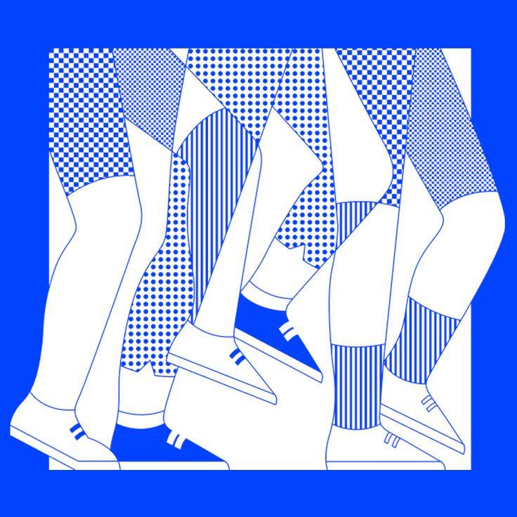 Seattle AIDS Walk T-Shirt Design via Lila Burns #illustration