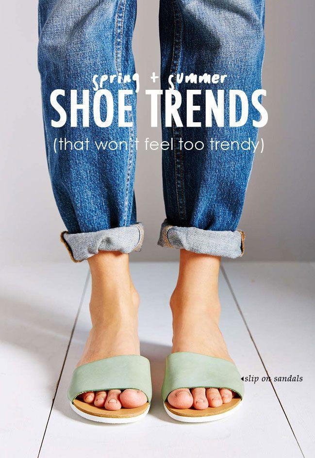 8 Spring Summer Shoe Trends - platform, red new balance and birks