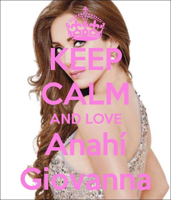 Keep calm: Anahí Giovanna (17)