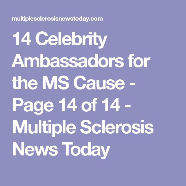 14 Celebrity Ambassadors for the MS Cause - Page 14 of 14 - Multiple Sclerosis News Today