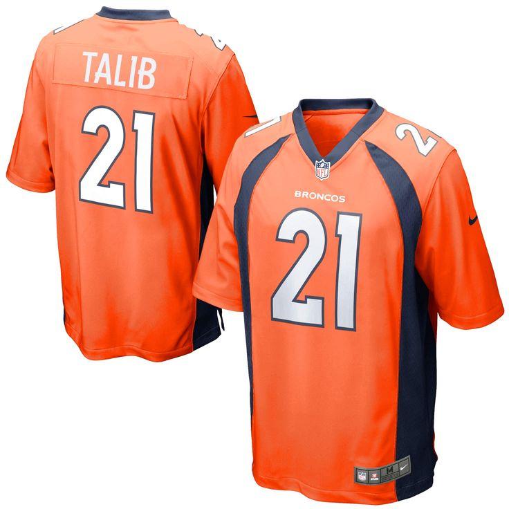 Aqib Talib Denver Broncos Youth Nike Team Color Game Jersey - Orange - $74.99
