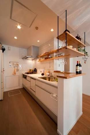 独立キッチン 吊り戸棚 - Google 検索