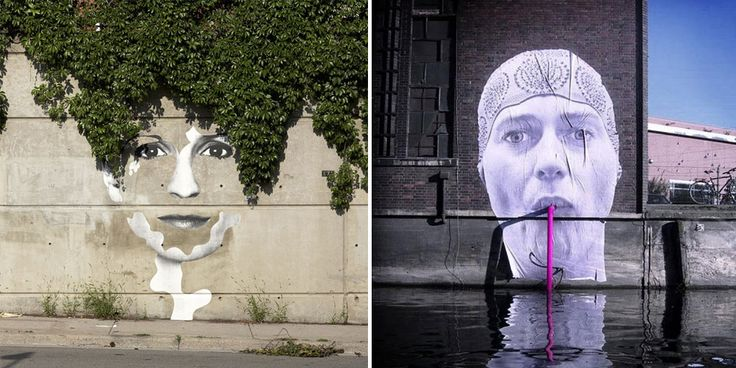 28 Pieces Of Street Art That Cleverly Interact With Their Surroundings