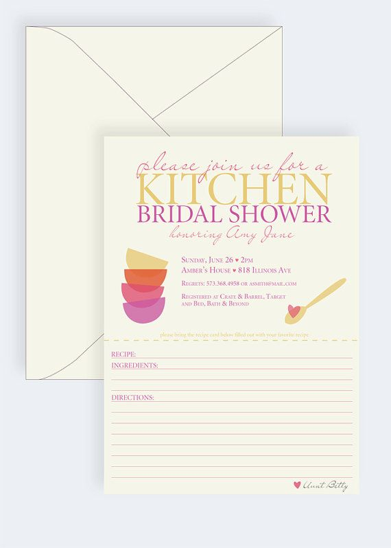 22 best kitchen themed bridal shower images on pinterest for Bridal kitchen shower ideas