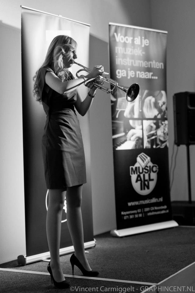 Melissa Venema   Yamaha Trompettiste   The Trumpet is my Voice   #Y4U