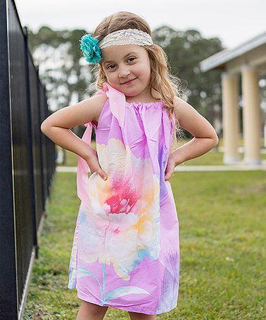 Love this Pink Floral Pillowcase Dress - Toddler & Girls on #zulily! #zulilyfinds