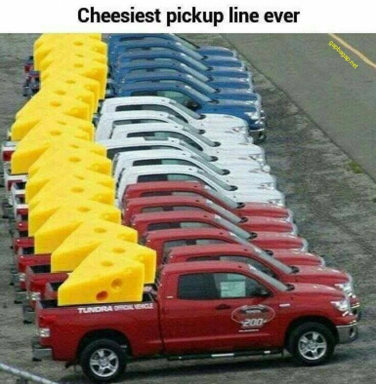 Funny Meme About Cars vs. Cheese
