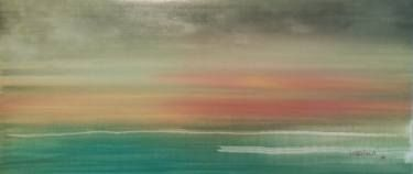 "Saatchi Art Artist Jukka Uusitalo; Painting, ""Across the Sea 2015"" #art"