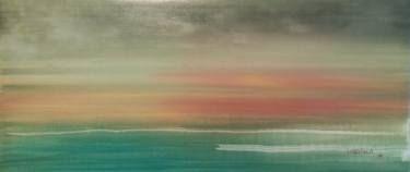 """Saatchi Art Artist Jukka Uusitalo; Painting, """"Across the Sea 2015"""" #art"""