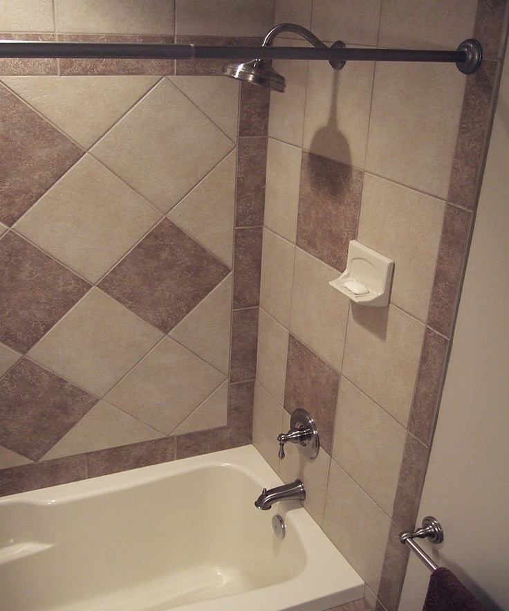 How To Do Wall Tile In Bathroom: 108 Best Images About Bathroom Ideas On Pinterest