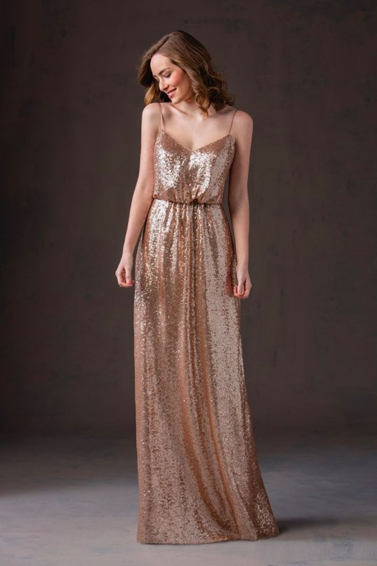57 best sequin bridesmaid dresses images on pinterest sequin sequin bridesmaid dress with spaghetti straps and sweetheart neckline blousant waist and a line skirt creates a romantic and glamorous bridesmaid look ombrellifo Choice Image