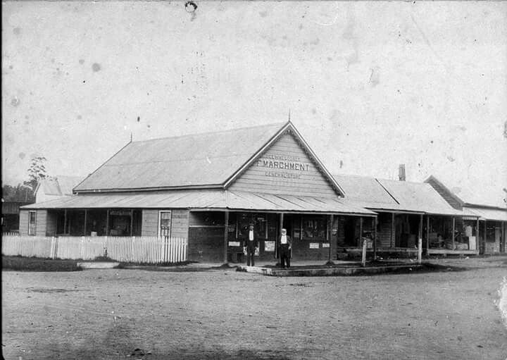 Corner of High and Csmeron Streets in Wauchope in New South Wales.