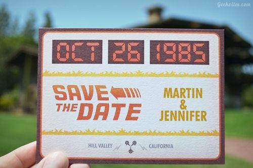 Save the Date – Pré-Convites de Casamento Nerds | Garotas Nerds