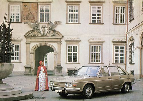 Brno | 1975, A publicity photo of Tatra 613 in The New City … | Flickr
