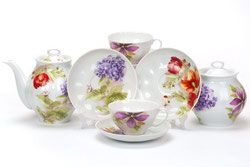 Ruski porcelan Dulevo Kuznecov - RUSKI PORCELAN BEOGRAD http://www.arte-russa.com/porcelan