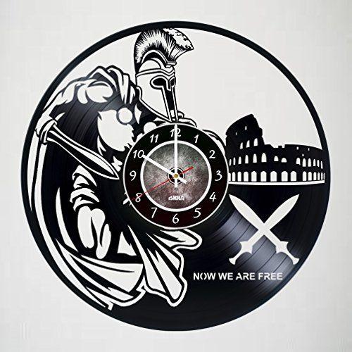 GLADIATOR - Vinyl Record Wall Clock - Poster - Ornament -...