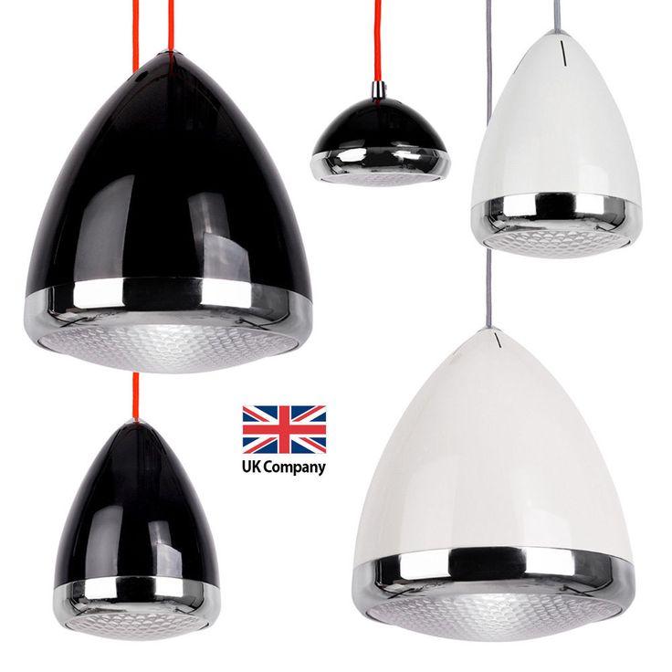 Ceiling light fittings black : Details about vintage car headlight black white ceiling