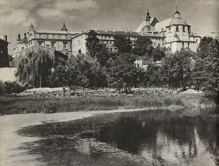 1954, kościół i klasztor dominikanów, Lublin. #lublin #dominikanie #klasztor