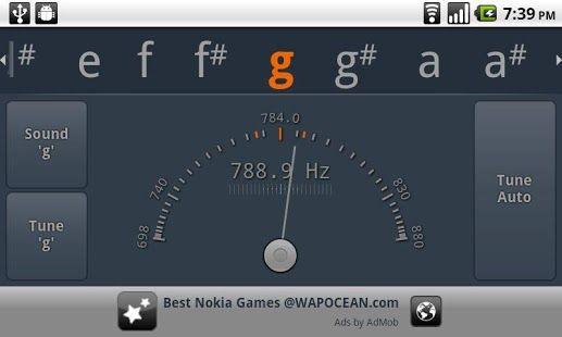 Free Cromatic Tuner - gStrings Free