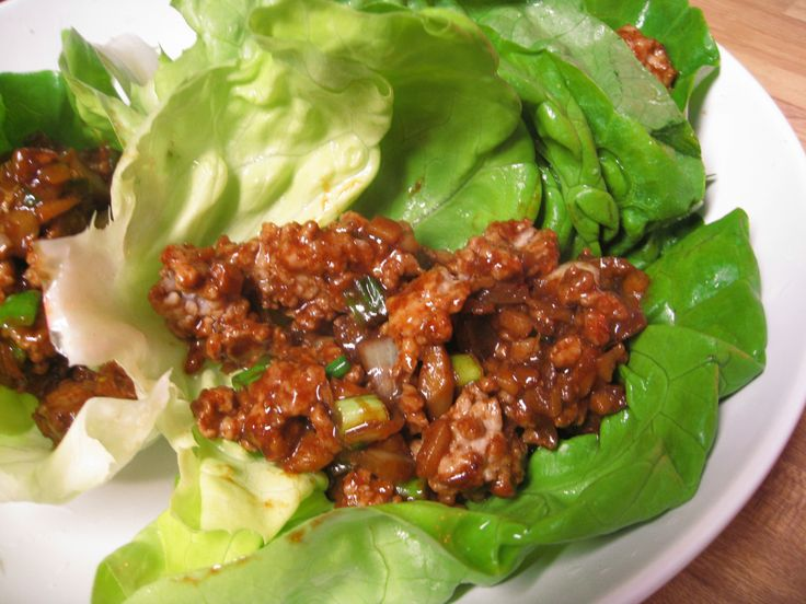 Asian Lettuce Wraps | Recipes to Try | Pinterest