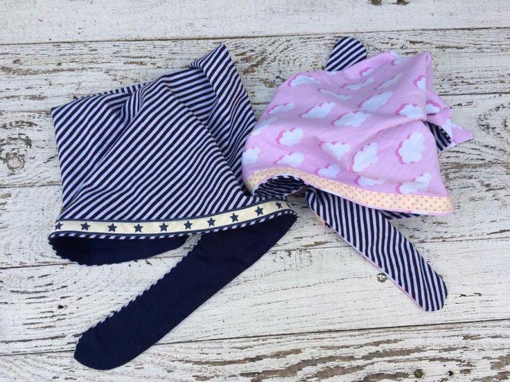 Roze en blauw gaan altijd goed samen! Leuke bandana's bij MixG