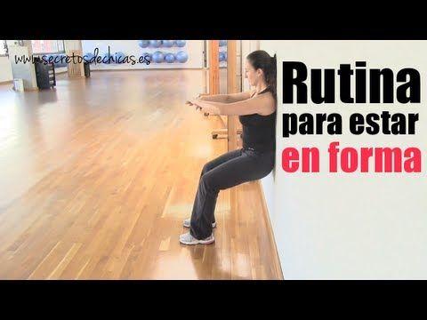 """Rutina de ejercicios """"transforma tu cuerpo""""."""