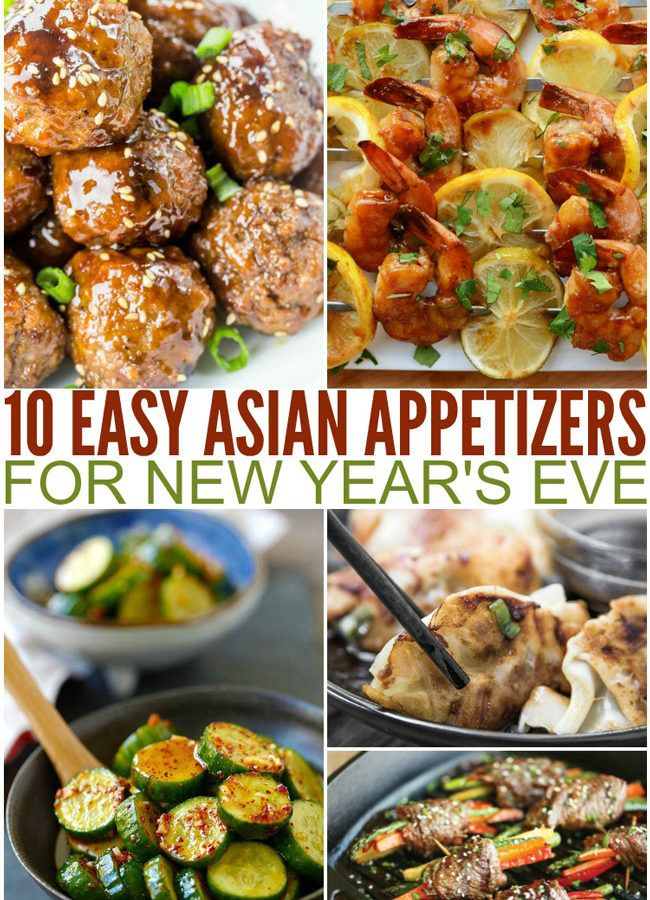 10 Easy Asian Appetizers for New Year's